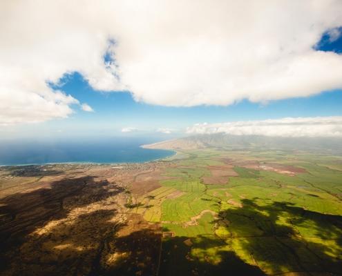 Luftaufnahme Landschaft